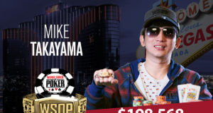 Mike Takayama campeão do Evento #59 da WSOP