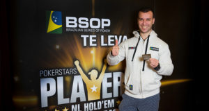 Anderson Fernandes campeão do Torneio All in ou Fold do BSOP SP