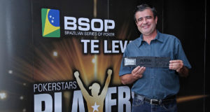 Elias Lima campeão do All in ou Fold do BSOP Brasília
