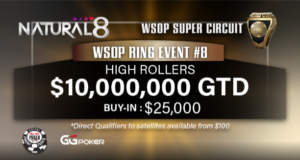 WSOP Super Circuit Online Series - Natural8