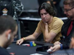 Dennys Ramos ficou entre os finalistas do Evento #74-High do WCOOP