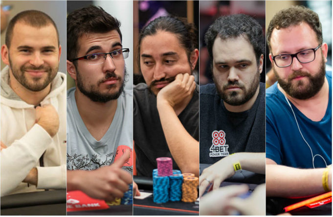 O Brasil terá oito representantes no Dia 3 do Main Event do WCOOP