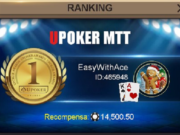"""""""EasyWithAce"""" foi campeão do Monday Grand"""