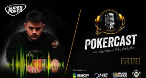 Gustavo Mastelotto é o convidado do 141º episódio do Pokercast