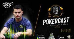 Gustavo Mastelotto no 142º episódio do Pokercast
