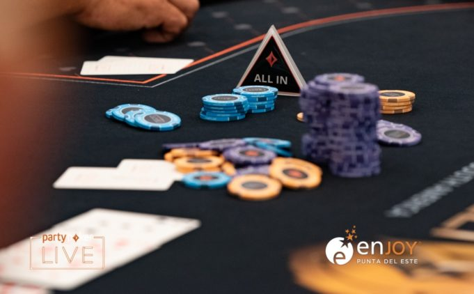 Second nuts na mão e overbet all in na Monster Series