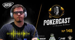 Brunno Botteon é o convidado do 148º episódio do Pokercast