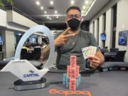 Saulo Deconti foi campeão do Capital Poker Fest