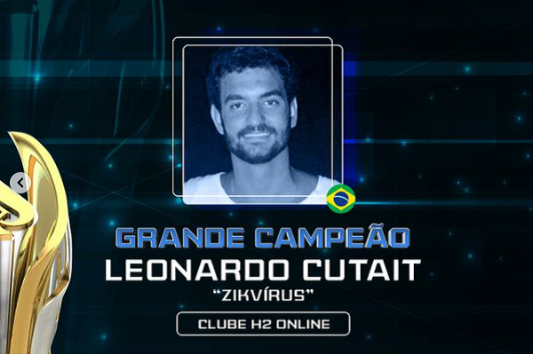 Leonardo Cutait encheu o bolso no Main Event da World Championship